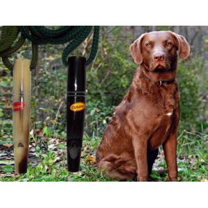 Píšťalka na psa z rohoviny